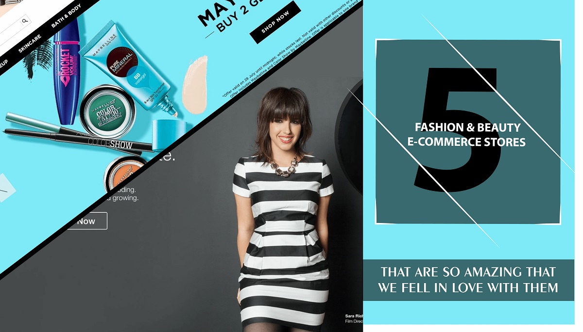 5 Amazing fashion & beauty eCommerce store we absolutely love